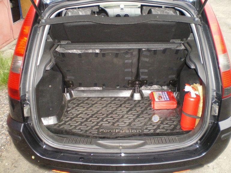 Объём багажного отделения Форд Фьюжн