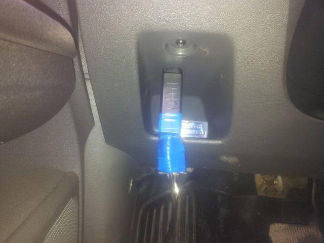 Подключение адаптера для настройки круиз контроля Форд Фокус