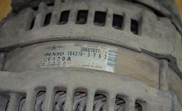 Маркировка генератора Форд Фокус 2