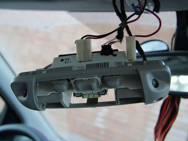 Отключаем плафон от бортовой сети Форд Фокус