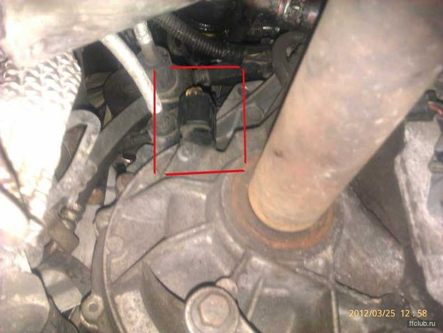 Неисправность датчика скорости Форд Фокус