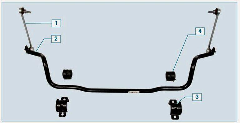 Схема стабилизатора Форд Фокус