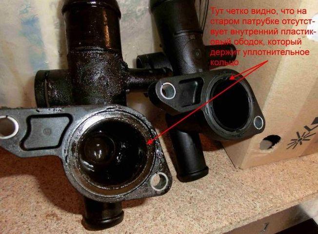 Замена патрубка-тройника системы охлаждения Skoda Octavia Tour