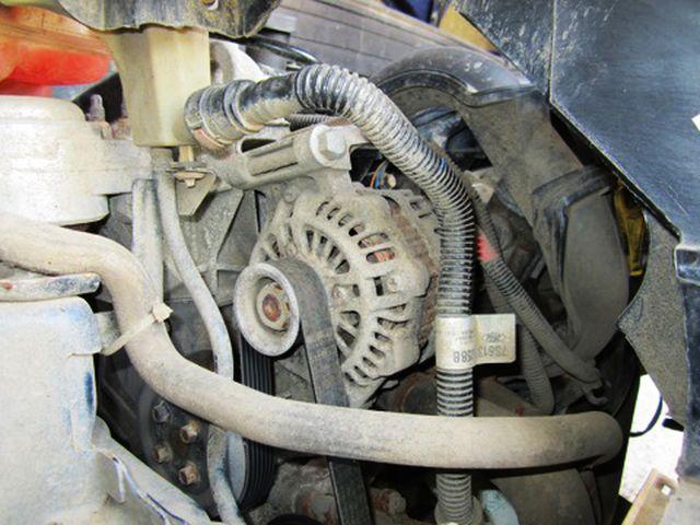 Снимаем проводку генератора Форд Фьюжн