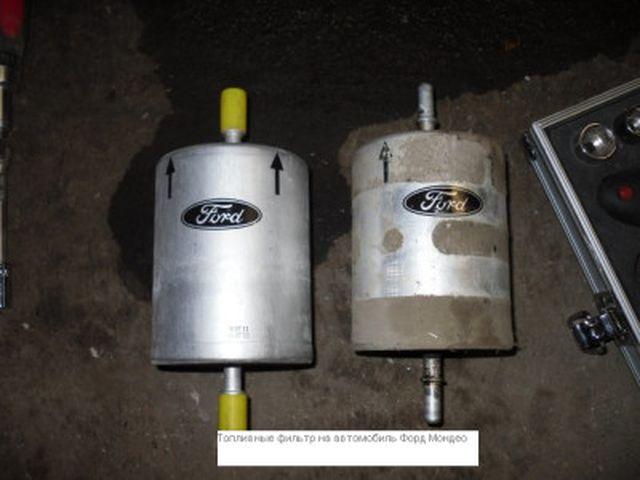 Топливный фильтр на Форд Фокус 3