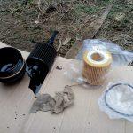 Замена масла и фильтра в Шкода Фабия своими руками