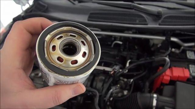 Масляный фильтр Форд Фиеста