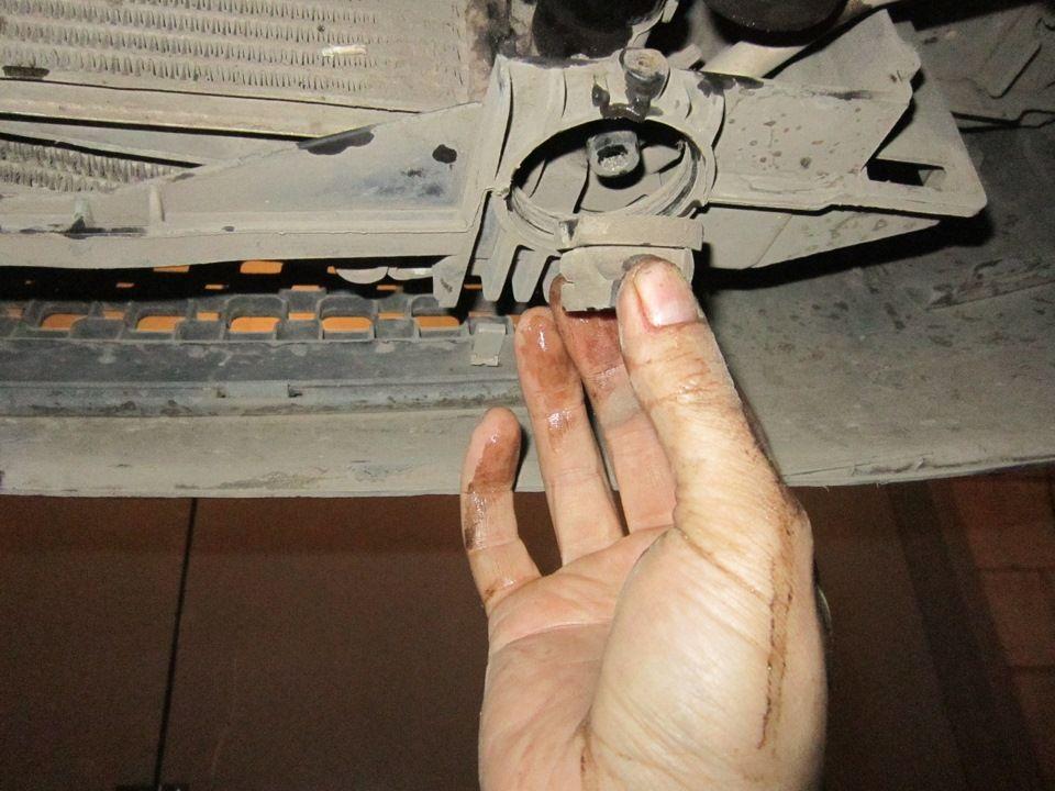 Замена радиатора Ford Fusion